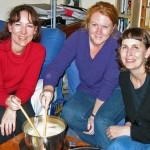 Three-cheese fondue with Champagne – IMBB #8