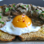 Sherried mushrooms & egg on toast – End of Month Egg on Toast Extravaganza #2