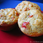 Peppadew and Parmesan muffins – IMBB #13