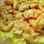 Curried chicken salad – a cool salad for a hot night