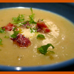 Jerusalem artichoke soup – love at first slurp [GF]