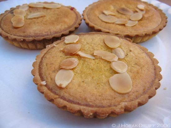 Bakewell mini tarts