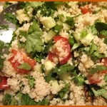 Food for a heatwave II – tabbouleh a la Cooksister