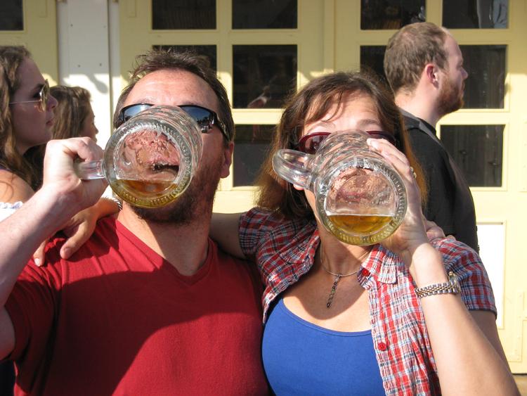 Munich-Oktoberfest-Beer-tankards © J Horak 2019