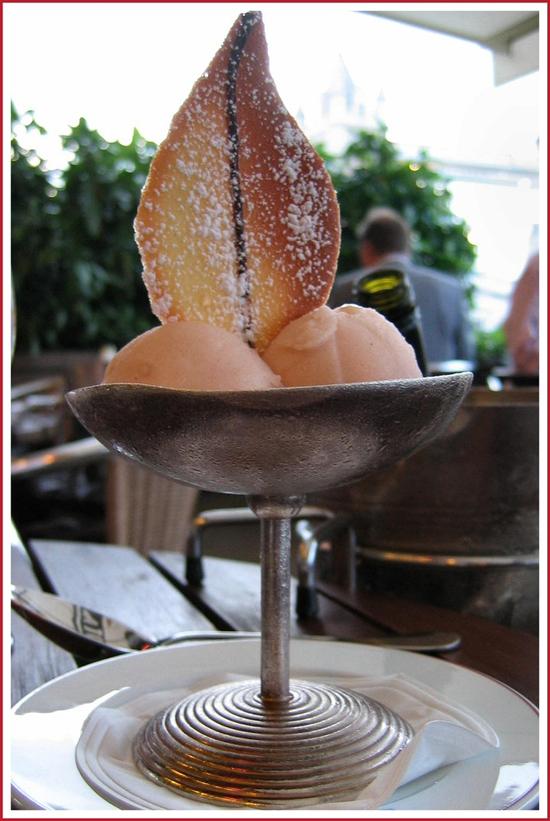 Bowl of sorbet