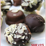 Amarula cream and caramel fleur de sel chocolate truffles for SHF#25