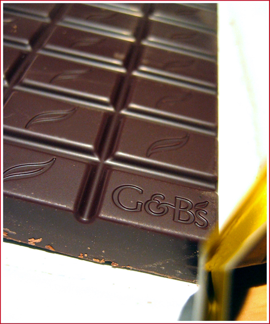 Green 7 Blacks dark chocolate