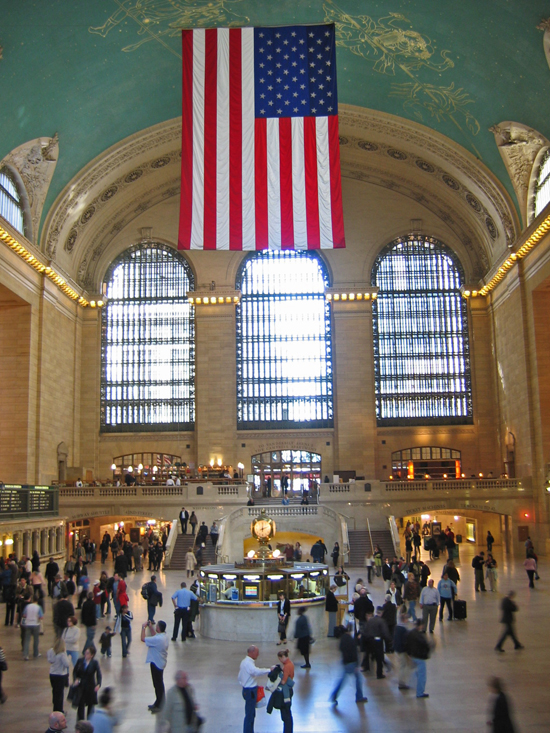 NYC Grand Central Station hall