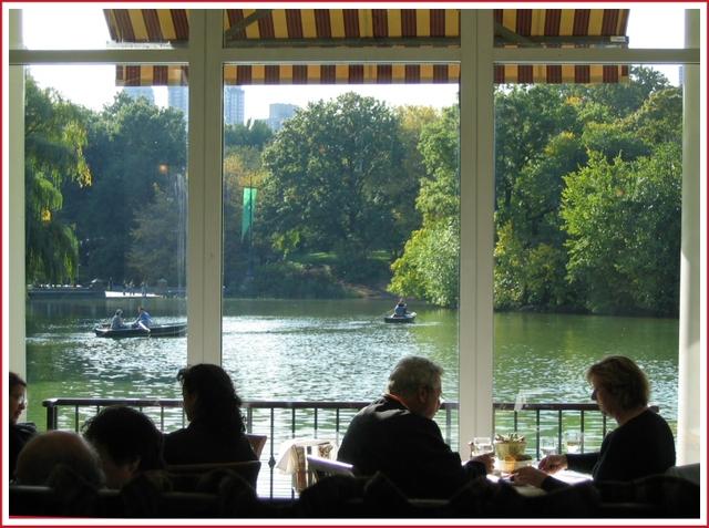 NYC Central park Boathouse restaurant