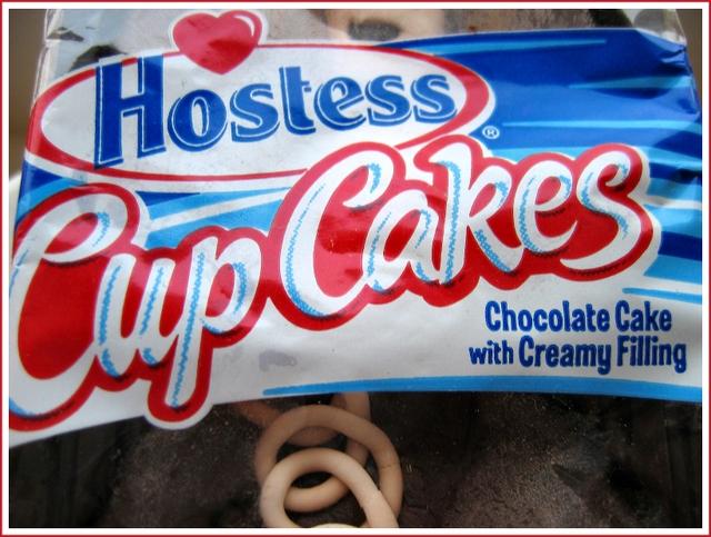 Hostess cupcakes packaging