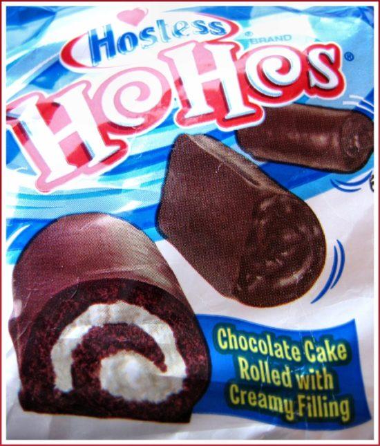 Hostess Ho-Hos packaging