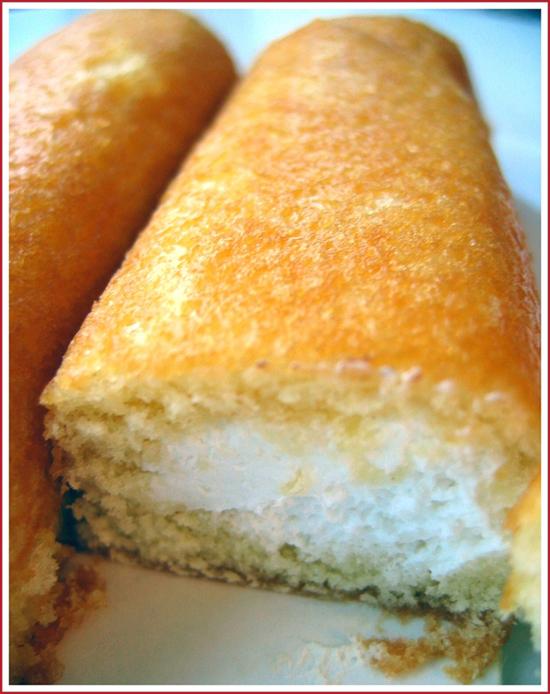 Hostess Twinkies cut