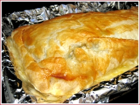 Salmon en croute - or what to do with a huge side of salmon ...