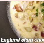 Moira's New England clam chowder