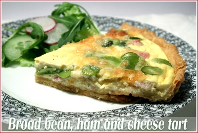 broadbean-ham-cheese-tart