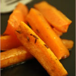 Cumin and caraway honey-roast carrots