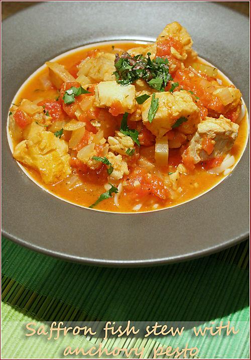 Saffron tomato fish stew © J Horak-Druiff 2010