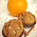 Waiter, there's something in my… spiced pumpkin muffins