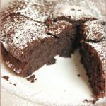 Be thankful for… decadent flourless chocolate cake