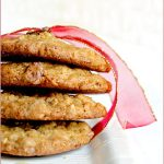 Cranberry, pistachio & choc chip cookies