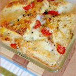 Savoury-caprese-bread-butter-pudding