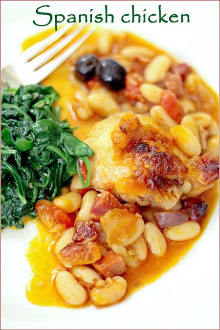 Spanish-chicken-bake