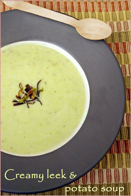 Leek-potato-soup