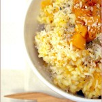Roasted butternut and sage risotto