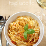 Salmon tagliatelle and a Cirio product review