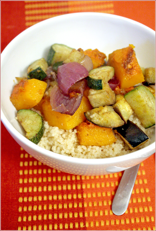 Moroccan-spiced roasted vegetables II