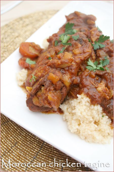 Post image for Spicy Moroccan chicken tagine