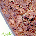 Easy apple pecan cobbler recipe