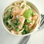 Smoked salmon, vodka and pea pasta – and a Kinvara salmon hamper