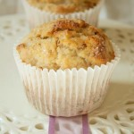 Low-fat banana walnut muffins – the Muffins of Good