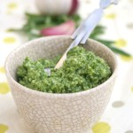 Really wild rocket pesto
