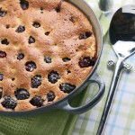 Blackberry & pistachio clafoutis and summer memories