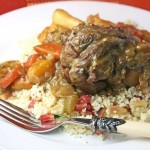 Easy Moroccan lamb shank tagine with Ras el Hanout and apricots
