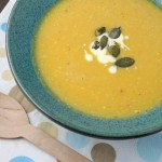 Roasted butternut soup – revisited & rephotographed