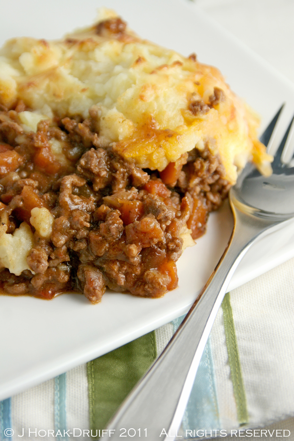 Post image for Cottage pie for comfort
