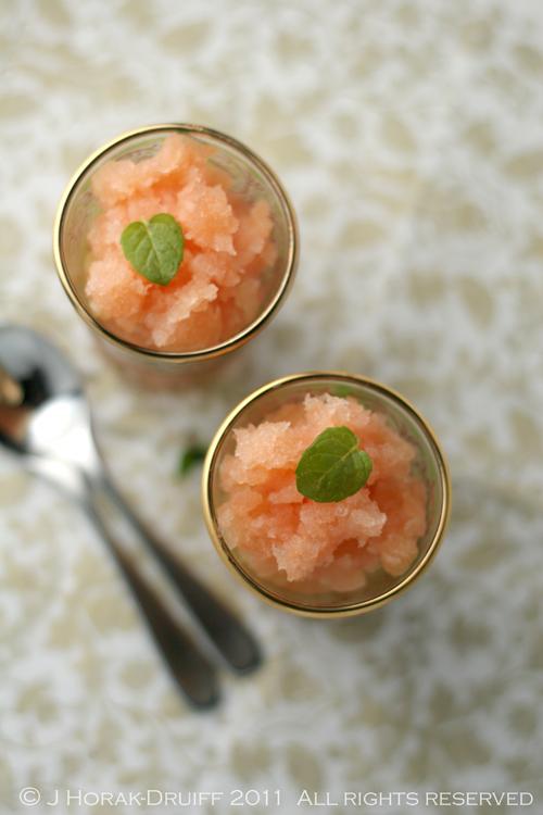 Ruby grapefruit & Campari granita © J Horak-Druiff 2011