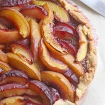 Nectarine & plum galette, and being remembered