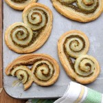 Perfect palmiers with pistounade from Provence