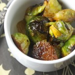 Glazed Brussels sprouts title © J Horak-Druiff 2012