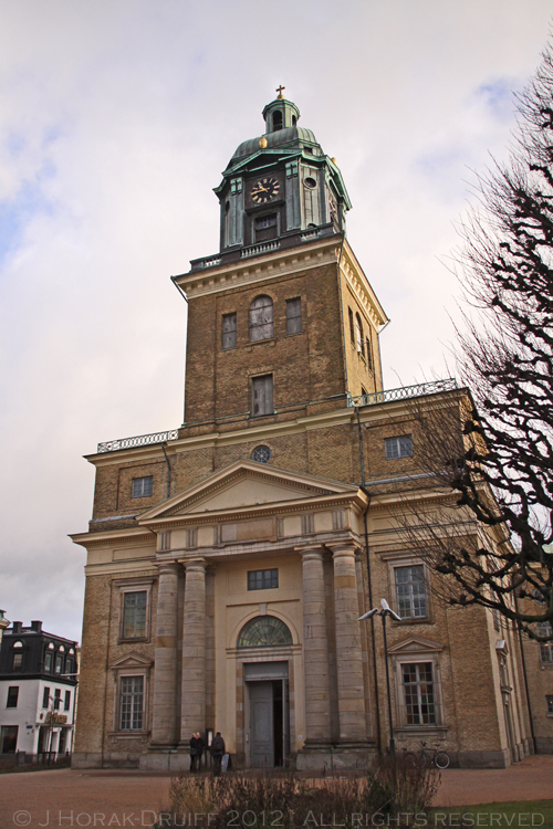 Gothenburg Cathedral © J Horak-Druiff 2012