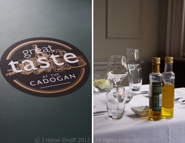 Great Taste at the Cadogan © J Horak-Druiff 2012