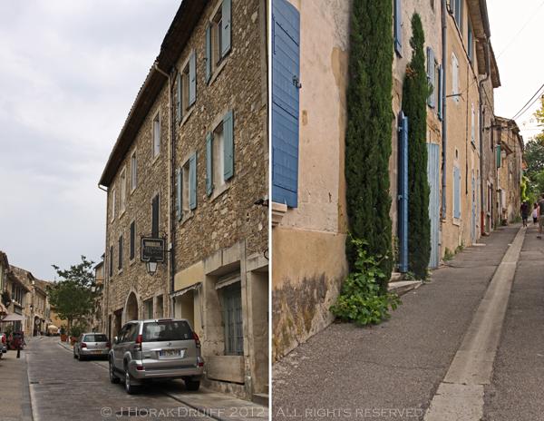 Menerbes street collage © J Horak-Druiff 2012