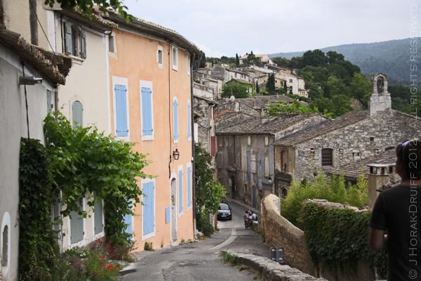 Menerbes village view © J Horak-Druiff 2012