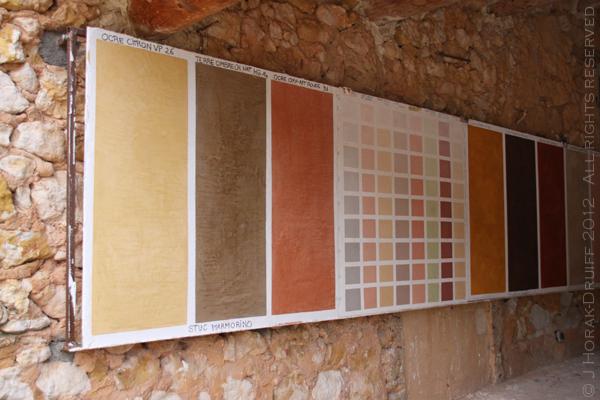 Ochre Conservatory panels © J Horak-Druiff 2012