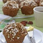 Pear oat muffins 1 © J Horak-Druiff 2012