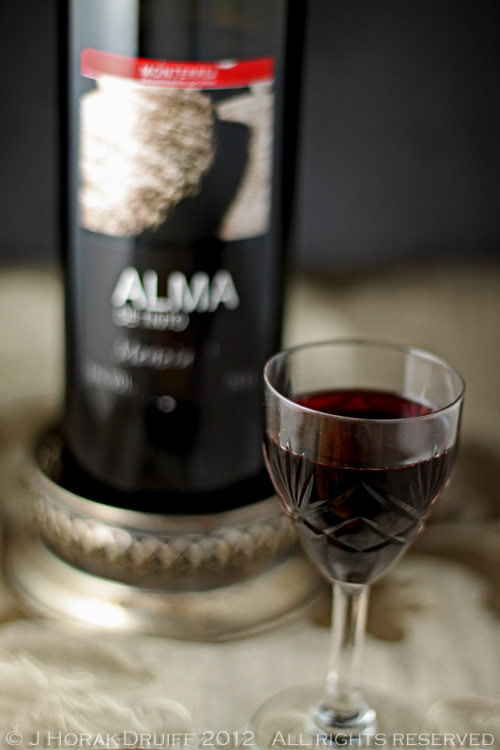 Spanish pork chop Alma wine © J Horak-Druiff 2012